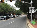 2016-10-06 08 54 58 View west along Virginia State Route 7 (Broad Street) at U.S. Route 29 and Virginia State Route 237 (Washington Street) in Falls Church, Virginia.jpg