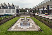 2016 Kuala Lumpur, Meczet Narodowy Malezji (04).jpg
