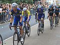 2016 Tour of Britain (6) Crediton - yellow jersey.JPG