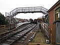 2017-01-13 North Norfolk Railway, Footbridge at Sheringham Station.JPG