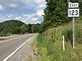 2017-07-21 17 10 38 View east along West Virginia State Route 123 (Airport Road) at U.S. Route 52 (Coal Heritage Road) in Brush Fork, Mercer County, West Virginia.jpg