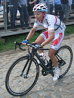 Mónika Király Hungarian cyclist
