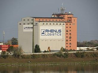 Rhenus (company) - Rhenus Logistics in Krems an der Donau, Austria