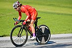 20180925 UCI Road World Championships Innsbruck Women Elite ITT Yixian Pu 850 9000.jpg
