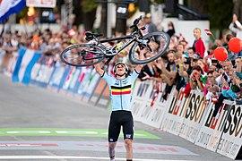 20180927 UCI Road World Championships Innsbruck Men Juniors Road Race Remco Evenepoel 850 0526.jpg