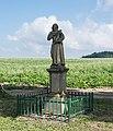 2018 Jaszkówka, figura św. Franciszka 1.jpg