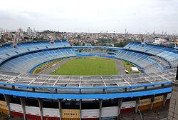 A antiga Fonte Nova foi um dos palcos do futebol baiano. Após um  desabamento de arquibancada c7454972d9c3d