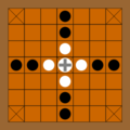283px-Brandub board.png