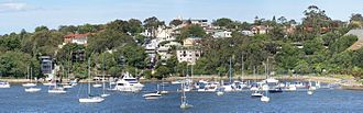 Balmain, New South Wales - Balmain from the Iron Cove bridge