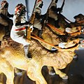 2nd floor, German Gallery, Heyde Figures, -27- Heyde, Germany, Arab Camel Corps.jpg