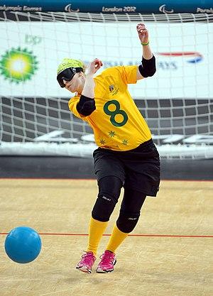 Meica Horsburgh - Horsburg at the 2012 London Paralympics