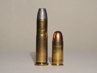 .32-20 Winchester - Left 32-20, Right .32 ACP