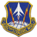 4082d Strategic Wing - SAC - Emblem