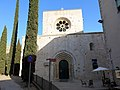 419 Sant Pere de Galligants (Girona), façana oest.JPG