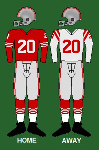 1960 San Francisco 49ers season - Image: 49ers 60 61