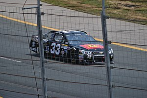 Derek White (racing driver) - White racing in his Cup debut at New Hampshire Motor Speedway in 2015
