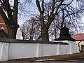 616246 małopolskie gm zabierzów Rudawa kościół ogrodzenie 2.JPG