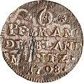 6 Pfennige, Landesdenkmalamt Berlin, Ausgrabung U5, 899 – 1082, Vorderseite.jpg