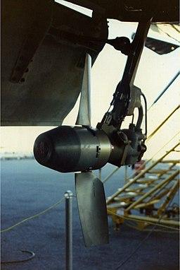 757 ram air turbine