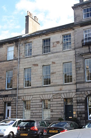 Archibald Bell (writer) - 81 Great King Street, Edinburgh, home of the writer, Archibald Bell