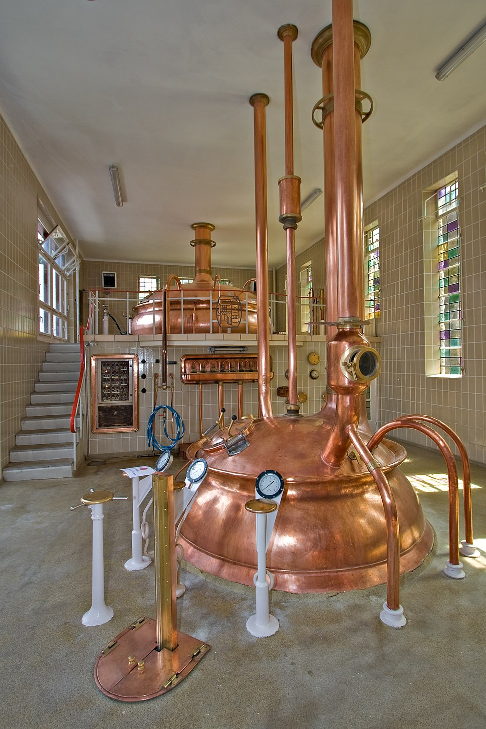 8210 Brewery in Abbaye Notre-Dame de Saint-Remy Rochefort 2007 Luca Galuzzi