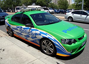 ACT Policing - Image: ACT Pol FF XR8