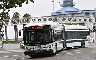 AC Transit - Image: AC Transit 2203 on June 5, 2013