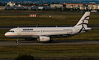 SX-DNA - A320 - Aegean Airlines