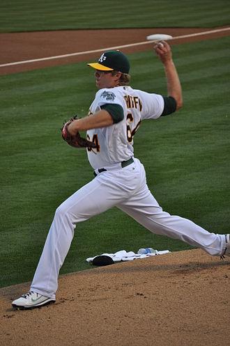 San Diego Toreros baseball - Image: AJ Griffin 2012