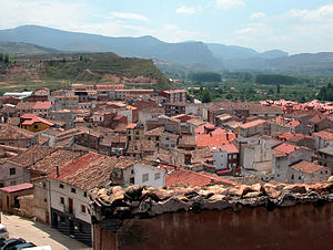 Albelda de Iregua - Image: ALBELDA DE IREGUA Vista general