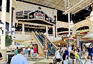 Easton Town Center - Image: AMC Easton 30