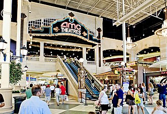 Easton Town Center - Image: AMC Easton 30