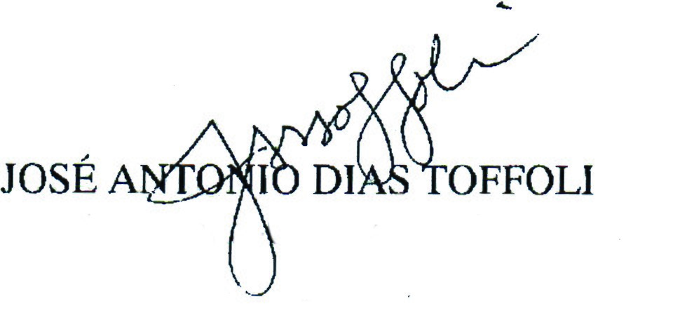 Dias Toffoli's signature