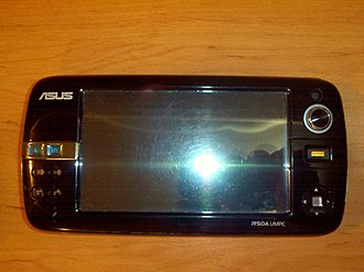 Ultra-mobile PC - ASUS R50A UMPC