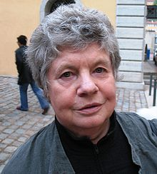 Byatt in June 2007 in Lyon, France (Photo by Seamus Kearney)