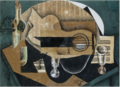A Guitar, Glasses and a Bottle .PNG