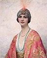 A beauty in Eastern costume, by William Clarke Wontner.jpg
