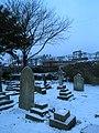 A bleak scene in Wymering Cemetery - geograph.org.uk - 1146198.jpg