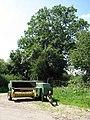 A parked baler - geograph.org.uk - 895793.jpg