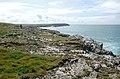 A rock-strewn view above Fox Cove - geograph.org.uk - 1473714.jpg