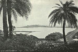 Cumbala Hill - A view from Cumballa Hill, c. 1905