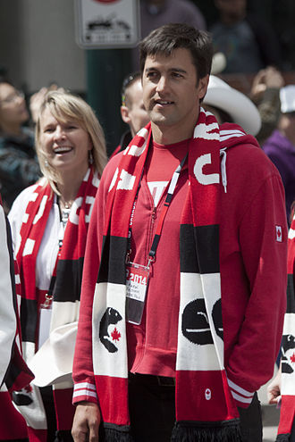 Aaron Feltham - Feltham at the Parade of Champions in Calgary (2014)