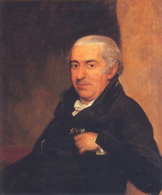 José Correia da Serra - Abbé Correa, by Domenico Pellegrini (1759–1840).