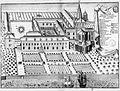 Abbaye de Landévennec gravure ancienne -Les Vies des saints dans l'ancienne Armorique par Albert le grand page 681-.jpg