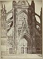 Abdij van la Trinité in Vendôme No 584 Vendôme (Loir et Cher) La Trinité (titel op object), RP-F-00-2509.jpg