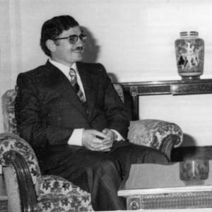 Abdullah al-Ahmar - Abdullah al-Ahmar in 1978
