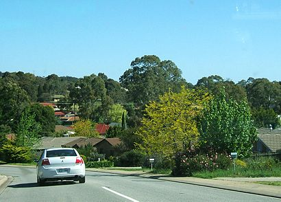How to get to Aberfoyle Park with public transport- About the place