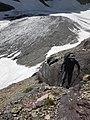 Above remains of Siyeh Glacier - panoramio.jpg