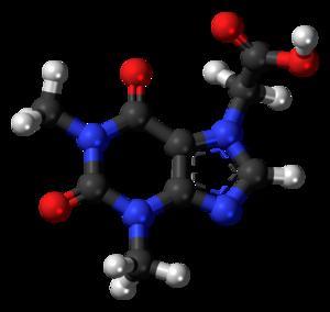 Acefylline - Image: Acefylline 3D ball