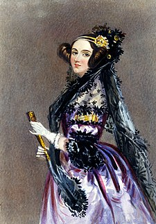 Ada Lovelace (1840)
